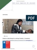 Salud Familiar - Servicio Salud Arica