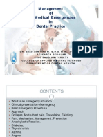 medical emergencies of dental problems [Compatibility Mode]