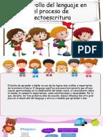 Desarrollo del lenguaje en el proceso de  lectoescritura