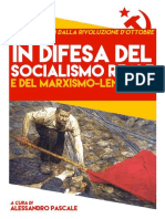 In Difesa Del Socialismo Reale Presentaz