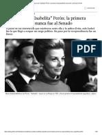 La historia de _Isabelita_ Perón_ la primera Vicepresidenta nunca fue al Senado _ Perfil