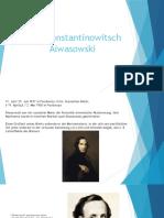 Iwan Konstantinowitsch Aiwasowski