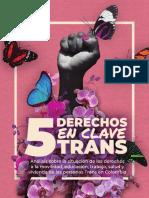 5 Derechos en clave Trans