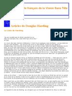 Article de Douglas Harding _ Liste de Douglas Harding