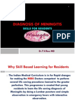 DIAGNOSIS OF MENINGITIS  SKILL BASED DIAGNOSIS OF MENINGITIS