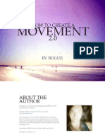 How to Create a Movement 2