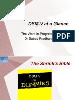 DSM V at a Glance