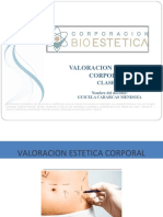 1.VALORACION ESTETICA CORPORAL- ANTROPOMETRIA