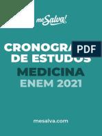 1613673529Cronograma de Estudos Medicina 2021 ENEM E Book