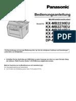 KX-MB2230EU-German