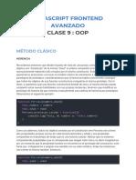 Javascript-9-OOP