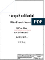 Acer Nitro AN515-34 Compal FH50Q LA-J621P Rev 1.0 Schematic
