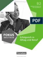 Lehrerhandbuch Fokus Deutsch B2