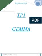 TP1 GEMMA