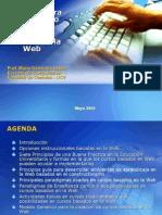 Presentacion Principios Guia para cursos en la web