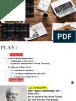 Fayol et gestion administrative