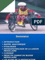 Paraplegie Tetraplegie Td Dr Blel Mpr