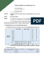 INFORME Docente-Abril 2021