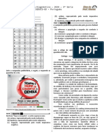 1ª P.D - 2020 (1ª ADA) - Port. 3ª Série - Ens. M. - BPW