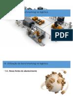 UFCD 0479_IIIII. Utilização do benchmarking na logística