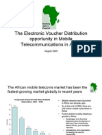 The EVD opportunity in Africa