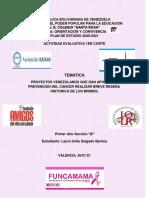 PROYECTO DE EMPRENDIMIENTO COLEGIO SANTA ROSA VALENCIA VENEZUELA