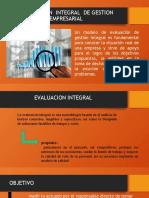 Evaluacion de Gestion Empresarial