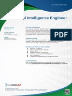Datasheet - Artificial Intelligence Engineer
