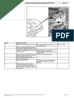 Mercedes s320cdi 220 648960 10-2004 Desmontaje Compresor Cierre Centralizado