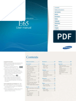 Samsung E65 Manual-English
