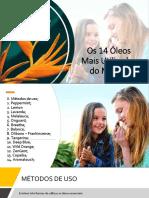 14 ÓLEOS KITS BENEFÍCIOS
