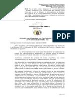 Auto admite demanda Laboral individual 2020-00110
