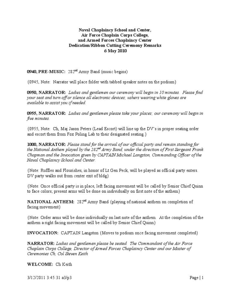 Script of dedication ceremony edit 10 rsq1 1 military script of dedication ceremony edit 10 rsq1 1 military organization military thecheapjerseys Gallery