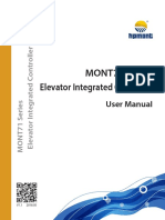 MONT71 Series Elevator Integrated Controller User Manual (V1.1)_阅读_20180503