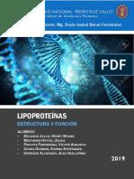 Informe de Lipoproteínas