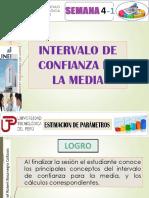 Semana 4a-Ean- Cgt Interv Confianza de La Media