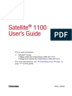 Satellite 1100 User Guide