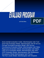 Program evaluasi