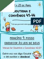 Aulinha Completa para Crianças D&C 41-44
