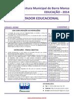 Orientador_educacional Prova de 2014