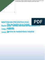 P-MSG-001 Mantencion Preventiva HVAC