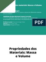 Propriedades Dos Materiais Massa e Volume1934
