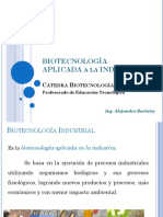 BIOTECNOLOGIA E INDUSTRIA