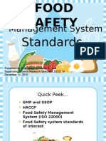 Food Safety for ICP 2k3