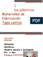 M 2-Tapa Cantos Formica