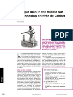 Attaque Man in the Middle Sur La Connexion Chiffree de Jabber