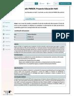PDF Caso Aplicado Pmbok Proyecto Educacion Haiti