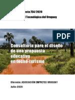 Propuesta técnica Empretec Tecno-turismo