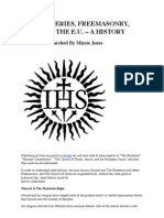 The Mysteries, Freemasonry, Jesuits & the EU
