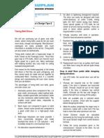 Design Tips 02 Timing Belt Drives
